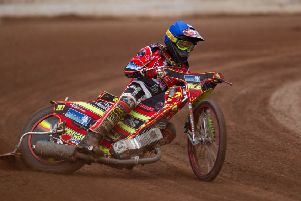Michael Palm Toft riding for Panthers in 2018.