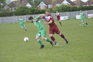 Jamie Crone hit a hat-trick for Little Common