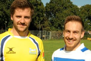 This years first and second XI captains.