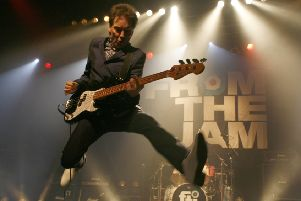 Bruce Foxton in From The Jam. Picture by Gary Clark