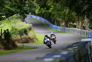 Action from this year's Enniskillen Road Races.
