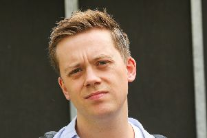 Owen Jones. Photo by Steve Taylor/SOPA Images/LightRocket via Getty Images