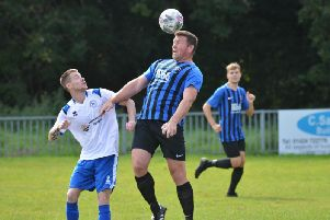 Action from Hollington United v Eastbourne Rangers earlier in the season