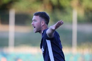 Hastings United boss Chris Agutter