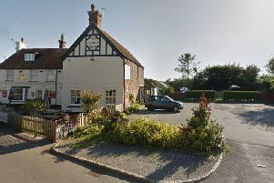 The Plough Inn And  car park