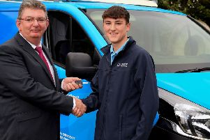 Rocco Quinn (16) from Templepatrick is set to fuel the future having been successful in applying for a gas engineering apprenticeship with Phoenix Energy Services
