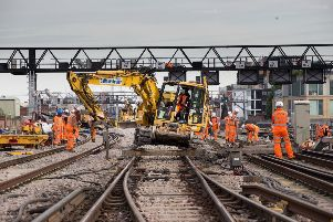 Network Rail works