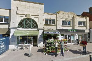 Bexhill indoor market (photo from Google Maps Street View)