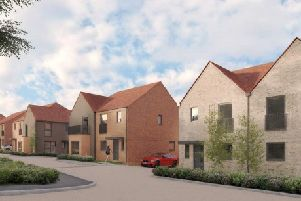 Artist's impression of a 80-home development on land at Manchester Road, Ninfield