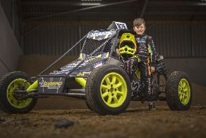 Chase Sharpe has been racing since the age of six, following in the footsteps of father and uncle EMN-200115-165845002