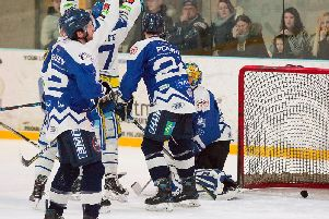 Blaze score late in the day against Lightning.'Pic: Tony Sargent