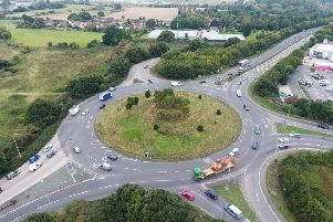 A27 junctions around Chichester. Picture by Eddie Mitchell