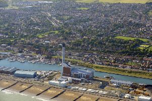Aerial view of Shoreham Picture: Allan Hutchings (112144-362) ENGPPP00120110624094657