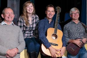 Sharing stage with Greg Harper on the night will be Nigel Ratcliffe, Chris Denman and Sarah Stirling