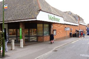 The former Waitrose site in Littlehampton