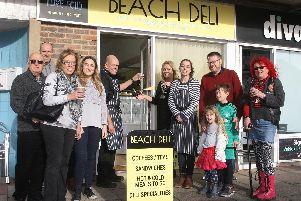 The deli was officially opened in Shoreham Beach on Saturday