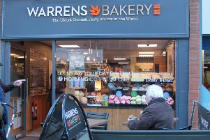 Warren's Bakery in Montague Street