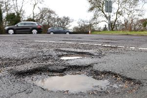 Across Britain, 717 miles of council-run A roads were deemed in need of maintenance