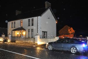 Police have launched a murder investigation after a man's body was found at his home in Glenwherry, County Antrim