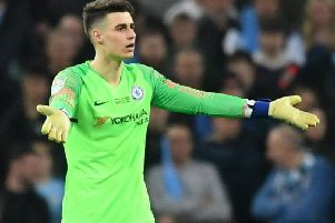 Chelsea goalkeeper Kepa Arrizabalaga. Picture by Michael Regan / Getty Images