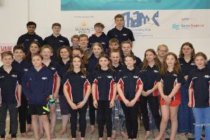 Thame Swimming Club county champs team