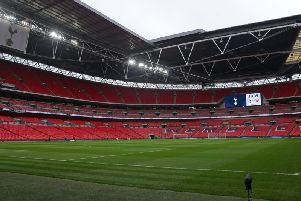 Wembley Stadium (Photo by DANIEL LEAL-OLIVAS/AFP/Getty Images)