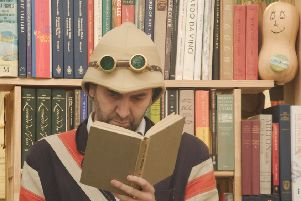 Paul Alborough, a steampunk hip hop entertainer who goes by the name Professor Elemental