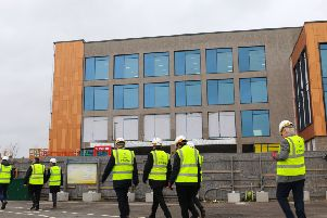 The new office block in Shoreham