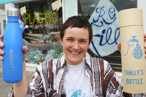 Emma Criddle, organiser of Shoreham Refilll and co-owner of the Neighbourhood Store in Shoreham High Street