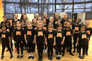 The Stagecoach youngsters who will perform with Collabro on Saturday