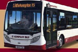The number 15 Littlehampton bus service will end on April 14. Picture: Littlehampton Town Council