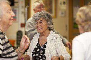 Christine loves a sing-along, especially when the Elvis impersonator is in the house