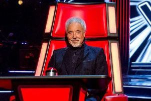 The Voice head judge Tom Jones