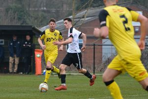Kings Langley wide man Stevie Ward scored with a beautiful lob on Saturday but Taunton held on for a 2-1 victory.