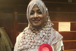 Labour's Henna Chowdhury, the first Muslim Bangladeshi woman,  was elected for Gaisford in Worthing