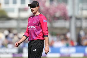 Luke Wright / Picture by Andrew Hasson for Sussex Cricket
