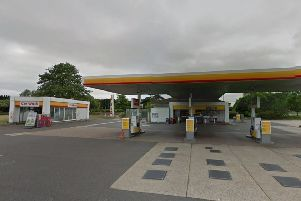 The Shell service station in Worthing Road