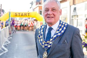 Mike Hitchins (outgoing Mayor of Kenilworth)