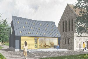 Graylingwell chapel in Chichester plans