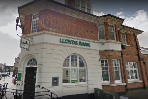 Lloyds Bank in Shoreham will close on September 16. Picture: Google Street View