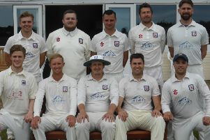 The Bexhill team which won by 10 wickets at home to Rye
