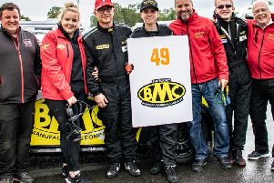 Woodard Racing team secure a race victory at Oulton Park. Picture by Lloydia Photography