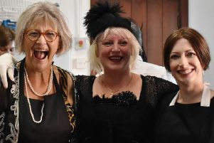 Janice Moth, centre, founded The Glamour Club to tackle loneliness by providing much-needed camaraderie and companionship