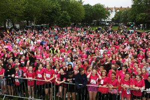 DM1962487a.jpg. Worthing race for life 2019. Photo by Derek Martin Photography. SUS-190616-135315008