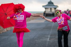 Guild Care's first Walk for Worthing was completed by 250 supporters of all ages