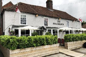 The Fox and Hounds pub in Funtington