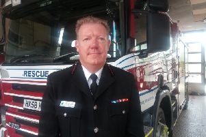 Acting chief fire officer for West Sussex Neil Stocker