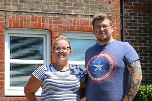 Ellie and Jordan Rome's house was provided through the new, free, Opening Doors letting scheme