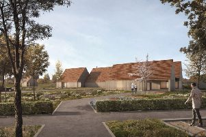 Y/103/18/PL Proposed approach view Arun Crematorium