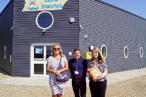 The new defibrillator will be put in place outside the Shark Park Community Cafe